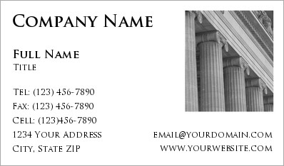 Attorney Business Card design